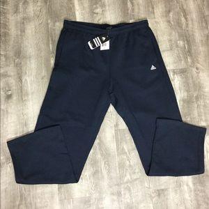 Adidas XL Workout pants Sweatpants Navy Blue NWT